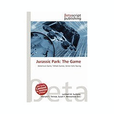Jurassic Park: The Game - Carte in engleza