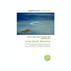 Long Island, Bahamas - Carte in engleza