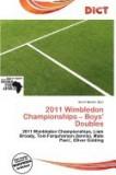 2011 Wimbledon Championships - Boys' Doubles