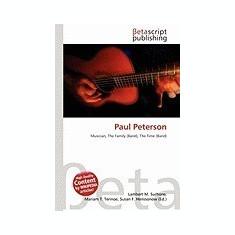 Paul Peterson - Carte in engleza