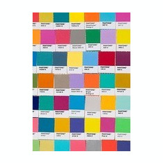 Pantone Chips Journal - Carte in engleza