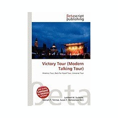 Victory Tour (Modern Talking Tour) - Carte in engleza