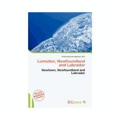 Lumsden, Newfoundland and Labrador - Carte in engleza