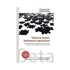 Tobacco Master Settlement Agreement - Carte in engleza