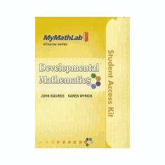 Developmental Mathematics - Carte in engleza
