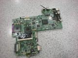 Placa de baza laptop Dell inspiron 1520 defecta pe alimentare , intacta, P, DDR2, Contine procesor