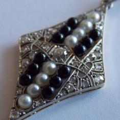 Pandant de aur 18k cu diamant - 464 - Pandantiv aur