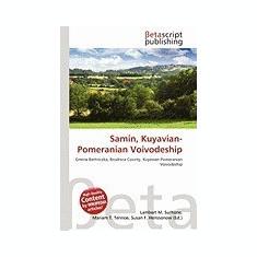 Samin, Kuyavian-Pomeranian Voivodeship - Carte in engleza