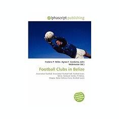 Football Clubs in Belize - Carte in engleza