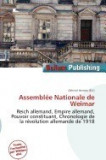 Assembl E Nationale de Weimar