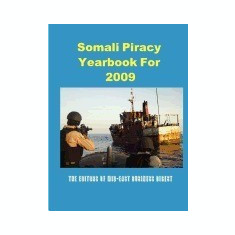 Somali Piracy Yearbook for 2009 - Carte in engleza