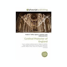 Cardinal Protector of England - Carte in engleza