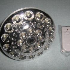 Lampa BEC cu telecomanda + acumulatori Litiu Ion cu incarcare in dulie - Corp de iluminat
