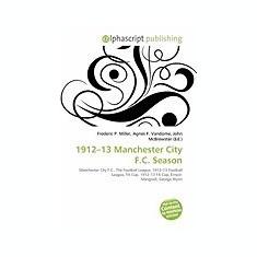 1912-13 Manchester City F.C. Season - Carte in engleza