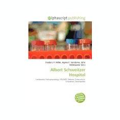 Albert Schweitzer Hospital - Carte in engleza