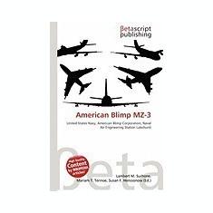 American Blimp Mz-3 - Carte in engleza