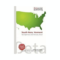 South Hero, Vermont - Carte in engleza