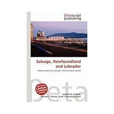 Salvage, Newfoundland and Labrador - Carte in engleza