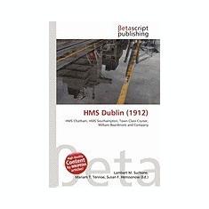 HMS Dublin (1912) - Carte in engleza