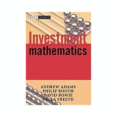 Investment Mathematics - Carte in engleza
