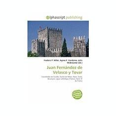 Juan Fernandez de Velasco y Tovar - Carte in engleza