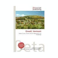 Orwell, Vermont - Carte in engleza