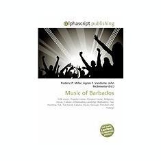 Music of Barbados - Carte in engleza