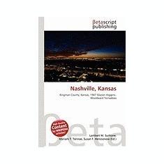 Nashville, Kansas - Carte in engleza