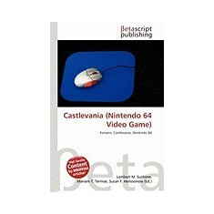 Castlevania (Nintendo 64 Video Game) - Carte in engleza