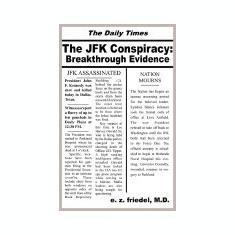 The JFK Conspiracy: Breakthrough Evidence - Carte in engleza