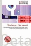 Washburn (Surname)