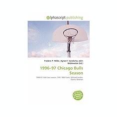 1996-97 Chicago Bulls Season - Carte in engleza