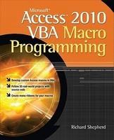 Microsoft Access 2010 VBA Macro Programming foto