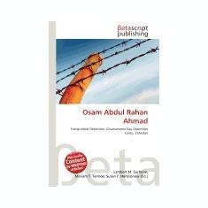 Osam Abdul Rahan Ahmad - Carte in engleza