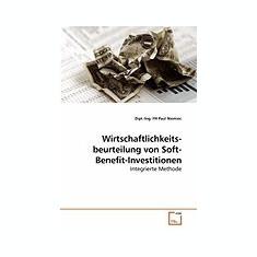 Wirtschaftlichkeits-Beurteilung Von Soft-Benefit-Investitionen - Carte in engleza