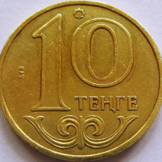 Moneda 10 Tenge - KAZAHSTAN, anul 2002 *cod 1760, Asia