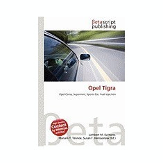 Opel Tigra - Carte in engleza