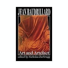 Jean Baudrillard, Art and Artefact - Carte in engleza