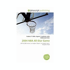 2004 NBA All-Star Game - Carte in engleza