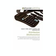 Distribution (Mathematics) - Carte in engleza