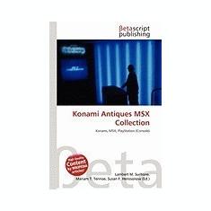 Konami Antiques Msx Collection - Carte in engleza
