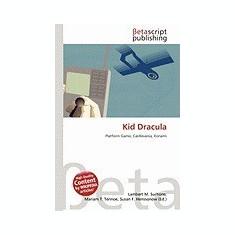 Kid Dracula - Carte in engleza