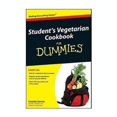 Student's Vegetarian Cookbook for Dummies - Carte in engleza