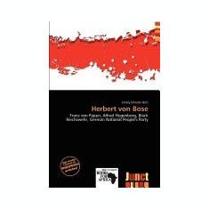 Herbert Von Bose - Carte in engleza