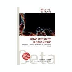 Raton Downtown Historic District - Carte in engleza