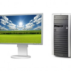 Pachet HP ML150, Dual Xeon 2, 80Ghz, 2Gb DDR2, 160Gb HDD, CD-ROM cu LCD 4634 - Sisteme desktop cu monitor HP, Intel Xeon, 2501-3000Mhz, 100-199 GB
