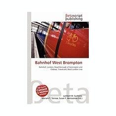 Bahnhof West Brompton - Carte in engleza