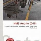 HMS Antrim (D18) - Carte in engleza