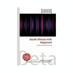 South African Irish Regiment - Carte in engleza