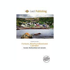 Fortune, Newfoundland and Labrador - Carte in engleza